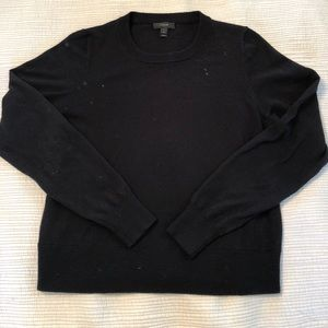 J. Crew Black Tippi Sweater size M